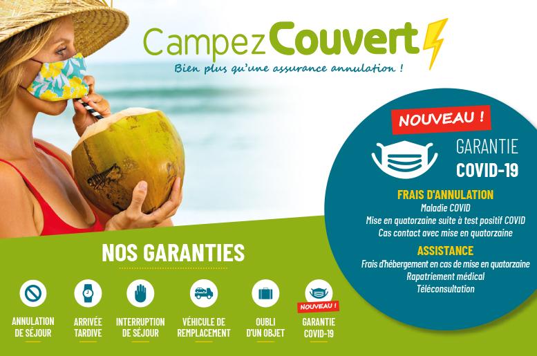 Garantie Campez Couvert - COVID-19